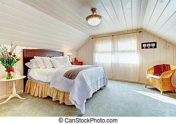 gran idea, abovedado, diseño, dormitorio, techo