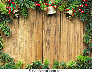 gran, trä, träd, bord, jul