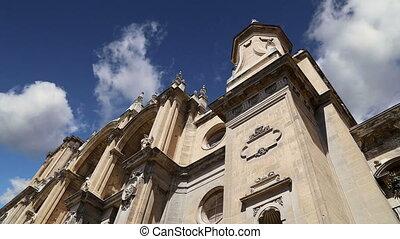 Granada Cathedral, Andalucia, Spain - Granada Cathedral...