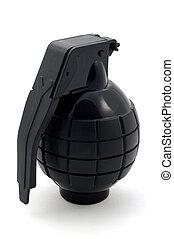 granada de mano, aislado