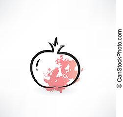granada, icono