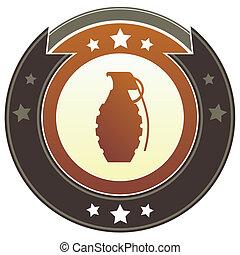 granada, imperial, botão