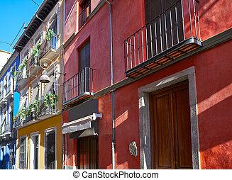 Granada Realejo downtown district Spain - Granada Realejo...