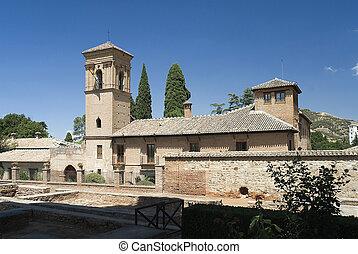 Granada,Spain,the Alhambra