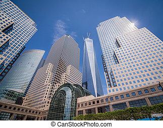 granangular, libertad, york, nuevo, torre, tiro