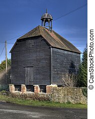 Traditional granary with cupola, Herefordshire, England.