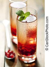 granatäpple, cocktail