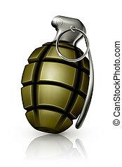 granat, 10eps, ręka
