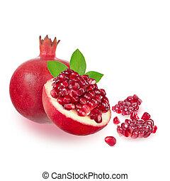 granatapfel, reif