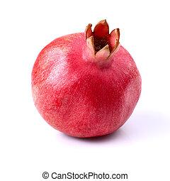 granatapfel, reif, eins