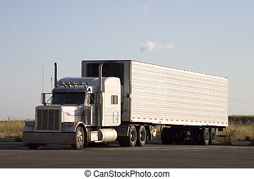 grand, 3, camion, derrick