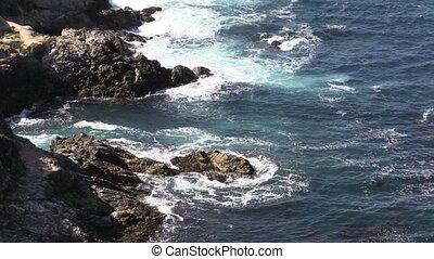 grand, californie, sur, côte pacifique