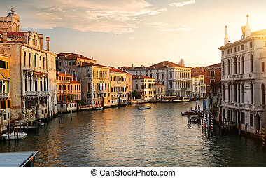 Venice at the dawn