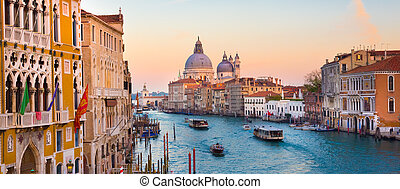 Grand Canal in Venice, Italy. - Gorgeous view of the Grand ...