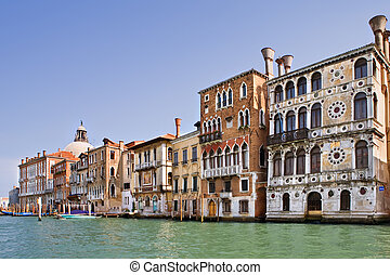 grand canal, ind, venedig, italien