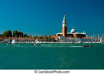 Grand Canal, Venice - Surreal atmosphere on the Grand canal...