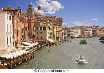 Grand Canal view in Venice