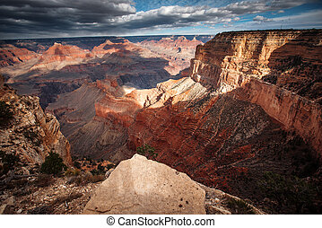 Grand Canyon aerial view.