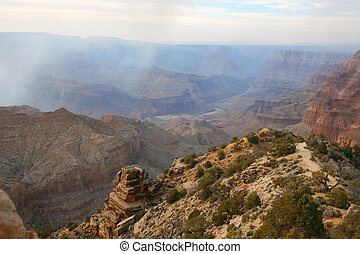 Grand Canyon and Colorado river, Arizona, USA