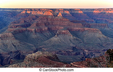 Grand Canyon. Arizona. USA