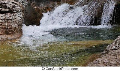 Grand Canyon. Bath Youth (Kara-Gol lake). Crimea. UltraHD...