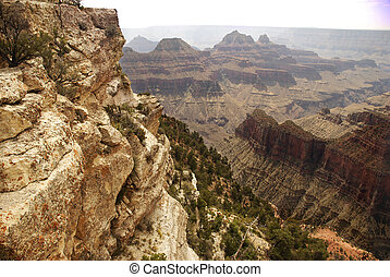 Grand Canyon Cliffs
