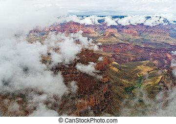 Grand Canyon Cloud Inversion