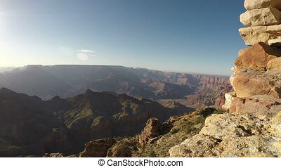 Grand Canyon Fish eye Shot Five
