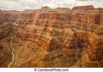 grand canyon, grosse wand