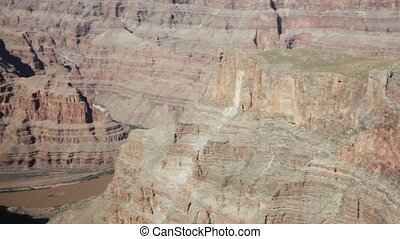 Grand canyon in sunny day
