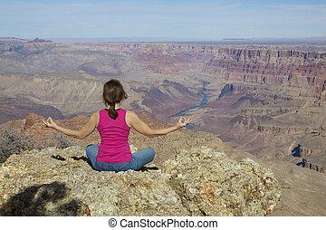 Grand Canyon Meditation
