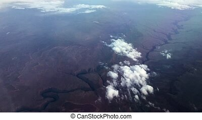 Grand Canyon national park aerial
