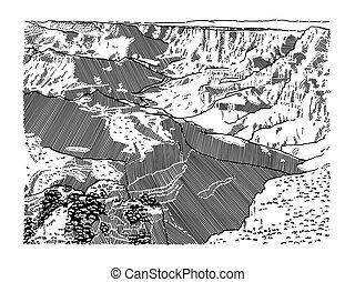 Grand Canyon National Park Scene - Grand Canyon National ...