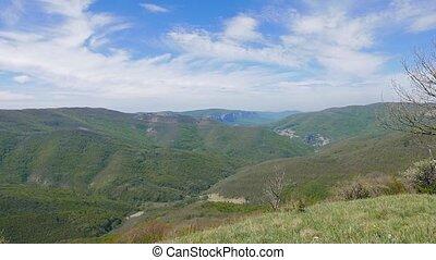 Grand Canyon of Crimea. Mountain. UltraHD (4K)