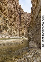 Grand Canyon of Jordan,Wadi al mujib Natural Reserve - The...
