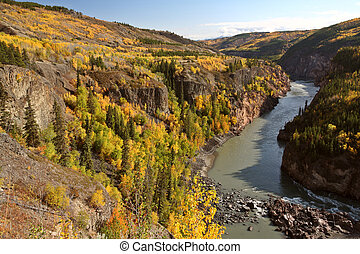 Grand Canyon of the Stikine River in British Columbia