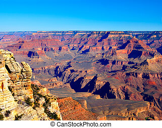 Grand Canyon on an early spring morning