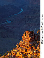 Grand Canyon on Sunset - Picture taken at Desert View Point...