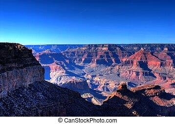 Grand Canyon - Early moring at the Grand Canyon in Arizona