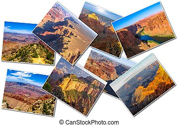 Grand Canyon pictures collage