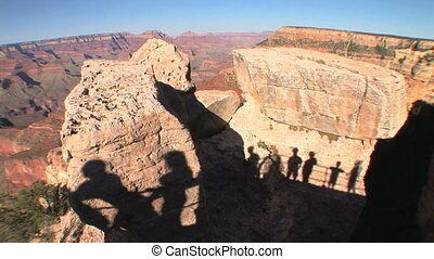 Grand Canyon Shadows, time lapse