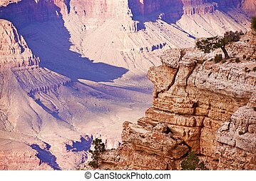 Grand Canyon South Rim - Arizona, USA. Grand Canyon...