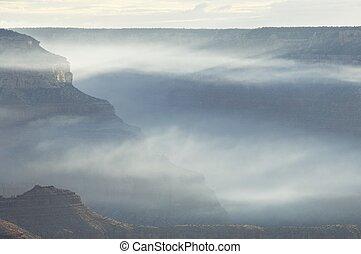 Grand Canyon - Hills in Grand Canyon National Park, Arizona,...