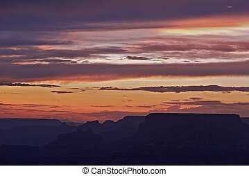 Grand Canyon Sunset Scenery