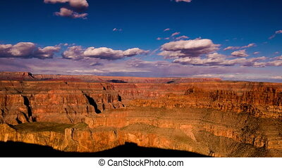 Grand Canyon Timelapse wide angle shot