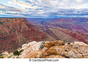 Grand Canyon Wide Angle View