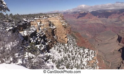 Grand Canyon Winter Landscape