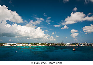 Grand Cayman coastline