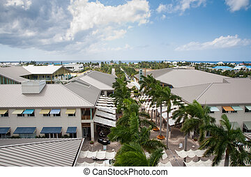 Grand Cayman from Camana Bay observation tower