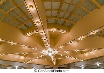 Grand ceiling of the Utah State Capital Building